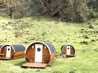 Camping on the Westman Islands